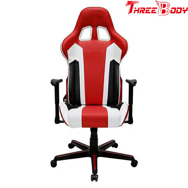 Swivel  Office Leather Gaming Chair Ergonomic Design High Back Aremest Adjustable