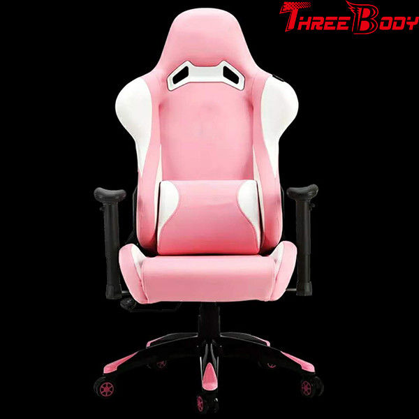 Modern Executive Racing Office Chair , Commercial Racing Style Gaming Chair